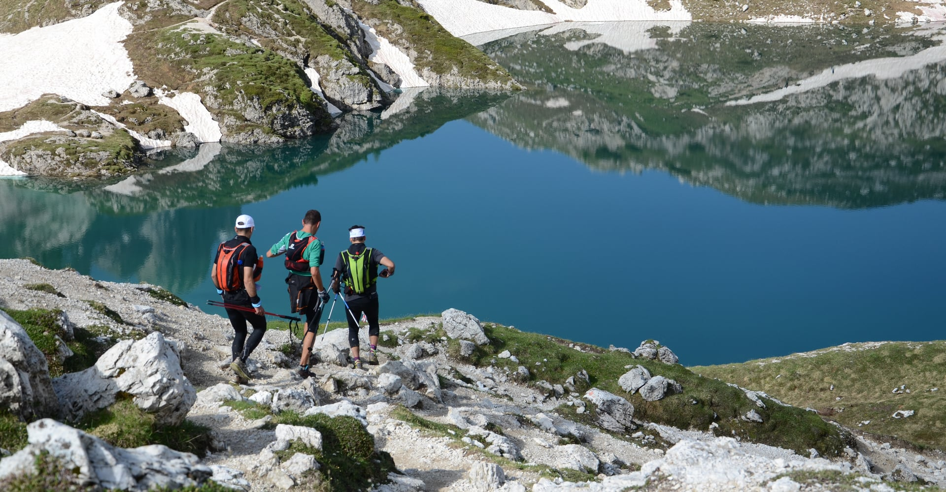 Trail running in South Tyrol