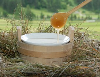 Alpine - honey and swiss stone pine bath (harmonic & spicy)